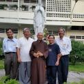 Hội đồng Liên tôn Việt Nam thăm viếng chức sắc các tôn giáo đầu năm mới Ất Mùi (2015)