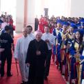 Trường CĐ Hòa Bình Xuân Lộc với Thánh Lễ Khai Giảng, làm phép Khu Học lý thuyết mới, Nghi thức trao bằng tốt nghiệp Cao Đẳng