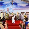 Hội Dòng Mến Thánh Giá Tân Lập: Thánh lễ đặt viên đá đầu tiên xây dựng nguyện đường