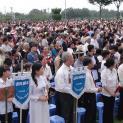 Hơn 3.000 Hội Viên Legio Mariae GP Phan Thiết hành hương Đức Mẹ Tàpao