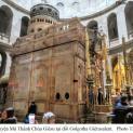 Hành hương viếng nhà thờ mộ Chúa Giêsu ở Giêrusalem.