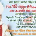 Mừng Kỷ Niệm 65 Năm Linh Mục Đức Cha Phêrô Trần Thanh Chung