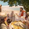 16/04 Người phân phát cho các kẻ ngồi ăn