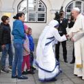 ĐTC gặp những người được các Tổ chức Bác Ái của Giáo hội Estoni giúp đỡ