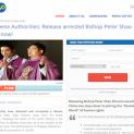 Yêu cầu Bắc Kinh trả tự do cho vị giám mục Giáo hội bí mật