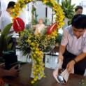 Giáo xứ Thánh Khang: Hội thi cắm hoa