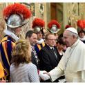 Đức Thánh Cha tiếp kiến các tân vệ binh Thụy Sĩ