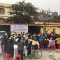 Caritas Hà Nội – Mừng lễ tất niên và Hội chợ xuân với người nghèo