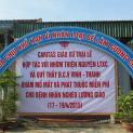 Caritas xứ Trại Lê, GP Vinh khám bệnh phát thuốc cho bệnh nhân nghèo