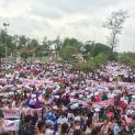 Tổng cộng cả trăm ngàn người dân tại nhiều giáo xứ xuống đường phản đối luật Đặc khu và An ninh mạng
