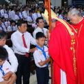 Thánh lễ Thêm Sức tại giáo xứ Tân Phú Hòa, Saigòn