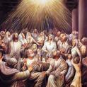 24/5 Các vị được tràn đầy Chúa Thánh Thần và bắt đầu lên tiếng nói