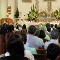Đức Cha Vincent Nguyễn Văn Long dâng lễ kỷ niệm Ngân khánh 25 năm hồng ân linh mục.