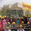 Nhóm Hành Hương Việt Nam tham dự Rước Lá tại Jerusalem 2019