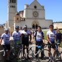 Đoàn linh mục hành hương bằng xe đạp đến Đền thánh La Salette