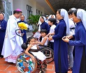 Làm Phép Nhà Nguyện và Nhà Dưỡng Lão do các Dì Hội Dòng Mẹ Nhân Ái điều khiển