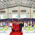 Trường Cao đẳng Hòa Bình Xuân Lộc: tốt nghiệp và khai giảng