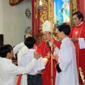 Thánh lễ ban Bí tích Thêm sức tại Giáo xứ Đông Thành, Thái Bình