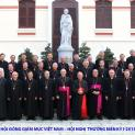 Hội đồng Giám mục Việt Nam họp Hội nghị Thường niên kỳ I-2015