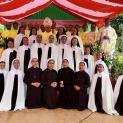 Thánh Lễ Khấn Trọn đầu tiên tại Đan Viện Cát Minh Thánh Gia – Xuân Lộc