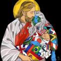 """Hình ảnh Chúa Giêsu ôm trọn nhân loại bệnh dịch trở thành """"hot"""" trên mạng xã hội Ý"""