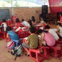 Lớp học hè tại giáo xứ Bình Khánh Xuân Lộc