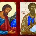 Ngày 03/05 Thánh Philípphê và Thánh Giacôbê