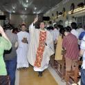 Gp. Mỹ Tho: Đức Cha dâng lễ Mừng Chúa Phục Sinh tại Gx Long Định 2