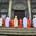 Gp. Thái Bình: Thánh lễ tạ ơn – Cắt băng khánh thành Nhà thờ Giáo xứ An Vỹ