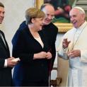 Đức giáo hoàng Phanxicô tiếp kiến Thủ tướng Đức Angela Merkel