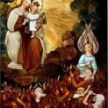 Hình ảnh Đức Mẹ núi Carmelo