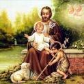 Hình ảnh Thánh Giuse, người phù hộ bảo trợ