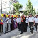 Đức TGM Giuse Nguyễn Năng về thăm mục vụ Giáo hạt Thủ Thiêm