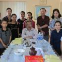 Nhóm Bác Ái Tân Phú Thăm Giáo Xứ Bù-Đăng Giáo Phận Ban Mê Thuột