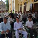 Caritas Bùi Chu: Trao tặng xe lăn, xe lắc, xe đạp và học bổng