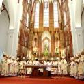 Đức Hồng Y Fernando Filoni chủ sự thánh lễ đại triều cầu nguyện cho công cuộc truyền giáo tại Nhà thờ Chính Tòa Hà Nội