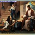 17/07 Martha rước Người vào nhà mình. Maria đã chọn phần tốt nhất