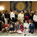 Đức Thánh Cha cám ơn ban tổ chức và ân nhân buổi hòa nhạc
