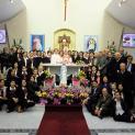 Đức Cha Micae Hoàng Đức Oanh thăm Cộng đoàn Thánh Vinh Sơn Liêm