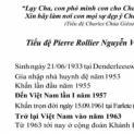 Anh Pierre Rollier Nguyễn Văn Thạch - Tiểu đệ Chúa Giêsu