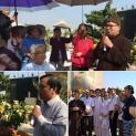 Hội Đồng Liên Tôn Thăm Vườn Rau Lộc Hưng Vừa Bị Cưỡng Chiếm Đất