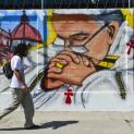 Người dân Mêhicô đón Đức Phanxicô với nghệ thuật đường phố