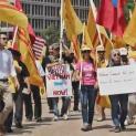 Biểu tình trước Nhà Trắng phản đối TBT Nguyễn Phú Trọng