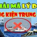 Tại Sao Việt Nam Chưa Kiện Trung Quốc Về Biển Đông ?