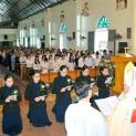 Gx. Nam Pháp: Thánh lễ Truyền Tin và Tuyên Khấn của các chị Tu hội Emmanuel