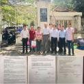 Người dân Vườn Rau Lộc Hưng tổ chức họp báo liên quan đến sự kiện bị cưỡng chế nhà, đất