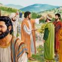 07/12 Thấy đoàn lũ dân chúng, Người động lòng xót thương họ