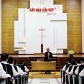 Bề trên Giáo phận Thái Bình huấn đức tại Đại Chủng Viện Thánh Giuse