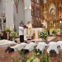 Truyền chức phó tế trong ngày khai mạc tháng nên thánh đối với Linh mục và Chủng sinh tại TGP Hà Nội