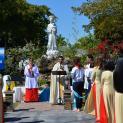 Giáo xứ Đức Mẹ La Vang Miami: Làm phép Đài Đức Mẹ La Vang và Mừng Xuân Mới